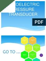 Piezoelectric Pressure Transducer R