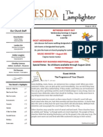 August Lamplighter 2012