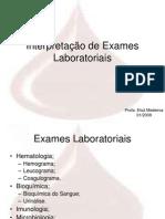 EXAMES LABORATORIAIS 2009