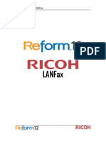 Ricoh Lan Fax User Manual