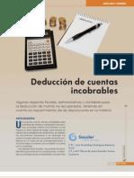 Deducci%C3%B3n de Cuentas Incobrable