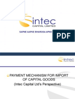 Mechanism on Import Payments
