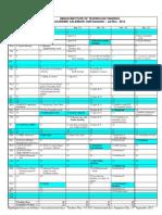 Academic Calendar Jul-Nov 2012