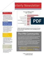 PIN Newsletter second quarter 2012
