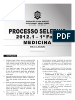 2012.1 Prova Medicina