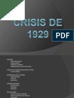 crisis de 1929