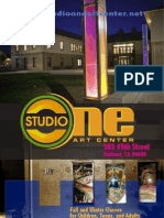 Studio One Art Center Fall-Winter 2012:13