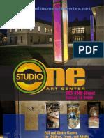 Studio One Art Center Fall-Winter 2012:13