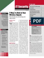 3 Ways to Rein in Your Wireless Signal