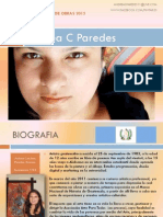 Andrea Paredes - Artista Guatemalteca