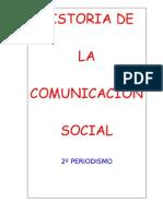 historia comunicación social.