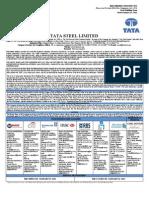 Tata Steel Ltd Rhp