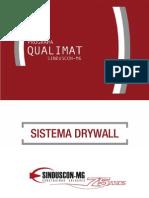 Cartilha Qualimat Sistema Drywall