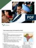 India-Pakistan Trade Relations