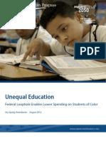 Unequal Education