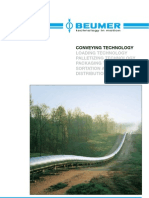 Beumer Overland Belt Conveyor En