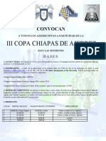 III Copa Chiapas