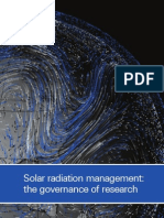 Report-srm - Solar Radiation Management -Research-governance