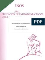 Cuadernos Del Foro - Acceso a Las Universidades Una Propuesta