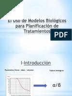 El Uso de Modelos Biológicos para Planificación de