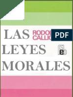 Las Leyes Morales. Rodolfo Calligaris