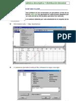 1 ACTIVIDAD 1, Estadística descriptiva + distribución binomial