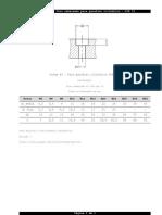 Tabela 012 - Furo rebaixado para parafuso cilíndrico - DIN 74