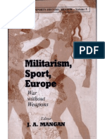 Militarism, Sport, Europe - War Without Weapons