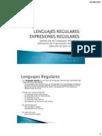 C3 - Expresiones Regulares y Solucion a Ejercicios No. 1