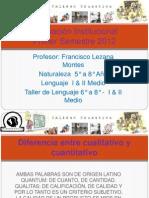 Evaluación Institucional 2012 FLM