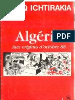 Algérie « Aux origines d'octobre 88″
