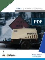 Compresor Dossan 100 Psi c185t2