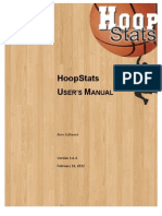 Hoop Stats User Manual