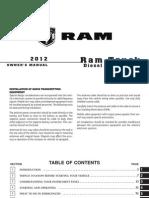 2012 Ram Diesel Supplement 4th