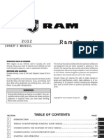 2012 Ram Chassis Cab Owners Manual