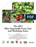 The 2012 Ohio Sustainable Farm Tour and Workshop Series