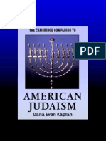 The C C to American Judaism