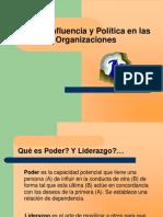 Poder Influencia y Politica en Las Organizaciones