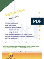 Walk a Thon Flyer Front Final v1.0