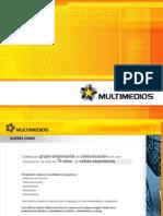 Presentacion de Brochure 2007 Multimedios