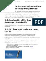 Scribus Software Libre