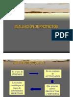 Gestion - Evaluacion de Proyectos de Inversion