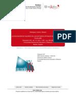 LA EDUCACIÓN EN VALORES EN LOS ESTUDIOS OFICIALES DE DANZA Y EN EL FOLKLORE. Rodríguez Lloréns, Rosario