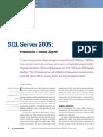SQL Server 2005 Preparação Para Uma Actualização Sem Problemas