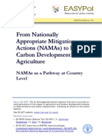 Nationally Appropriate Mitigation Actions NAMAS 103EN