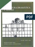 Anuario de Teatro Vol1 2008