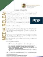 Media Release (MACUFE Homebrew Programme) 2