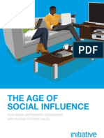 The Age of Social Influence