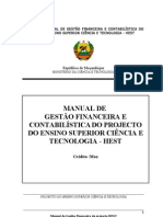 Manual de Gestao Financeira Do Hest