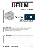Fujifilm Finepix S1000fd Service Manual